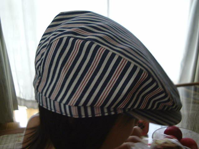 やっさん帽子2