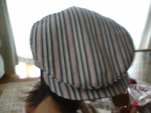 やっさん帽子1