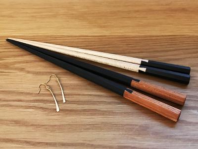 お箸とピアス
