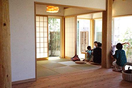 和室と内土間