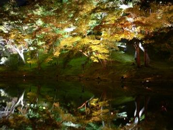 高台寺偃月池