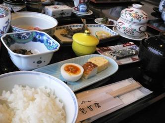 彩岳館朝食
