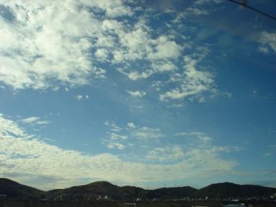 新幹線からの空2