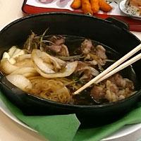 羊肉のすき焼き