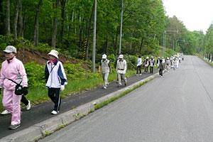 士別歩こう会6月例会