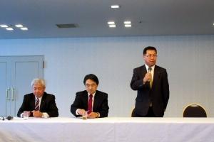 自治労北海道道北政治フォーラムの会長に就任
