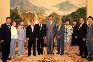 中国人民政治協商会議上海市委員会を表敬訪問