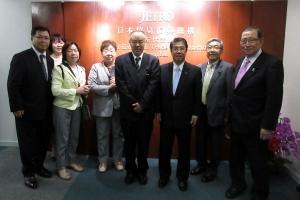 日中経済協会上海事務所を訪問