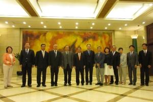 瀋陽市人民代表大会を訪問
