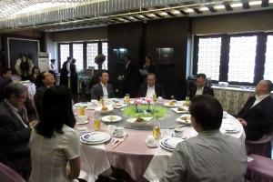 北京市人民対外友好協会との夕食懇談