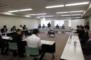 士別市朝日水力発電所建設促進期成会の定期総会で挨拶