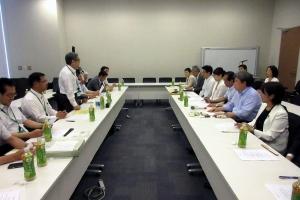 北海道選出国会議員の皆さんに要望