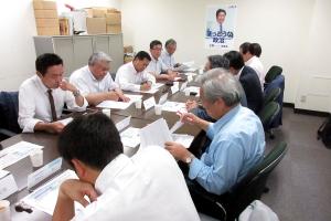JR北海道路線維持対策本部会議に出席