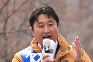 具体的な政策など、元気な北海道づくりを語る石川ともひろ知事候補