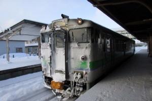 今年最後の札幌へもJRで移動