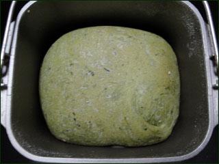 ほうれん草食パン�