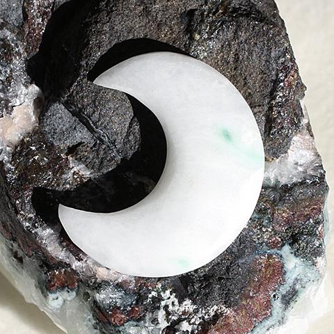 糸魚川翡翠・月