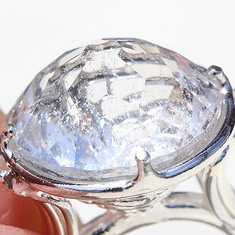 ヒマラヤ水晶・リング