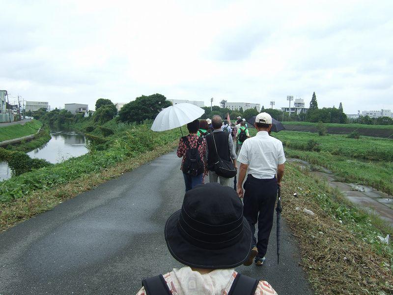 安威川と番田井路