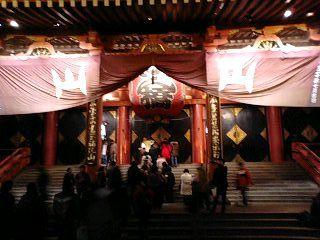 浅草寺にお参り