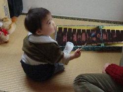 木琴、弾けるかな?