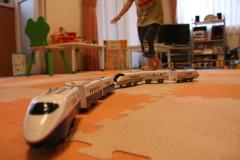 プラレールの新幹線☆