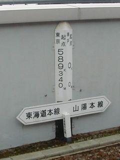 神戸駅分岐点