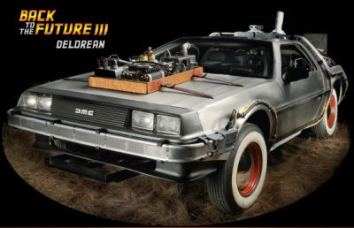 BTTF 3 DeLorean