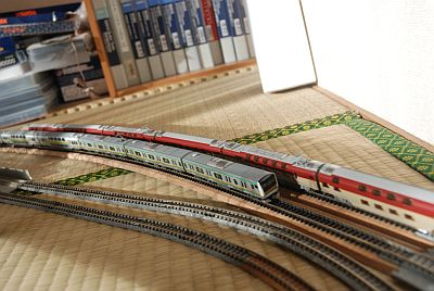 東海道線とサンライズ