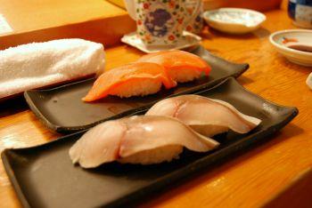 最後のお昼はお寿司