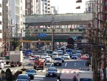 上野東京ラインを外から見る