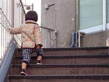 とある階段にて
