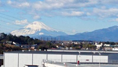 公園からの富士山