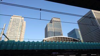 東京駅のいつもの場所