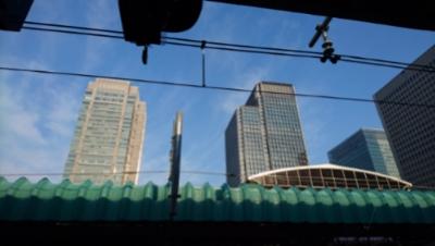 今朝の東京駅