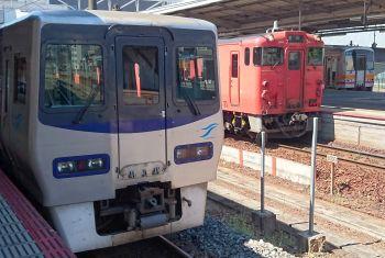 岡山駅のカオス