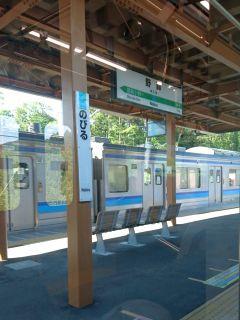 野蒜(のびる)駅