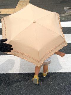日傘を借りて