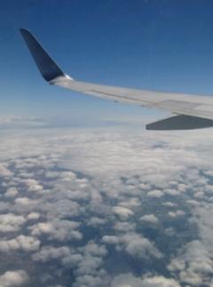 飛行は順調
