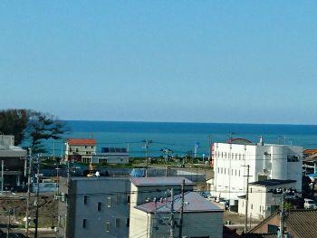 糸魚川からの日本海眺望
