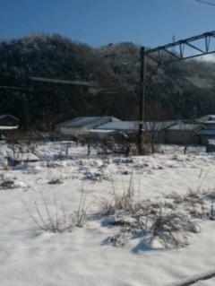 今庄は雪が多い