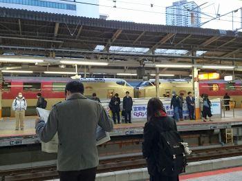 今日は横浜でサンライズ
