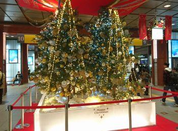 メリークリスマス in 金沢駅