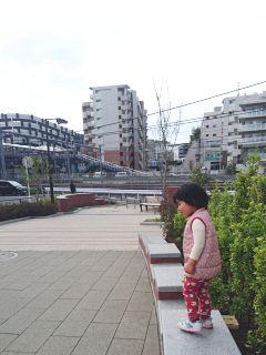 戸塚の公園で遊ぶ