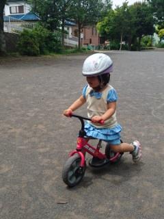 一番やりたいのは自転車