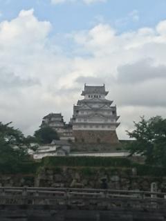 姫路城の前まで散歩