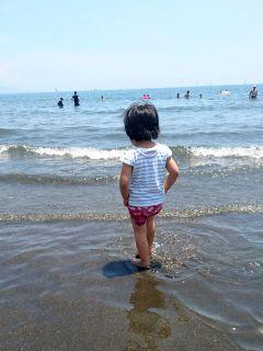 江の島は東浜にて