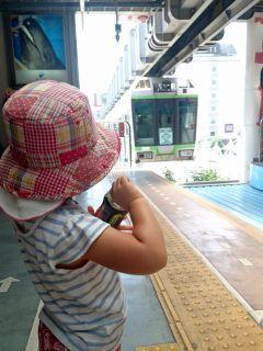 湘南モノレールに乗って