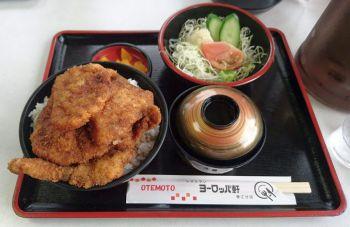 ソースカツ丼定食(大)