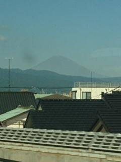 小田原手前から富士山